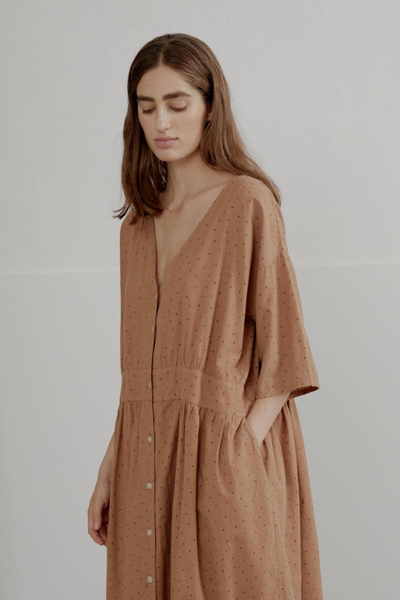 sukienka z organicznej bawełny