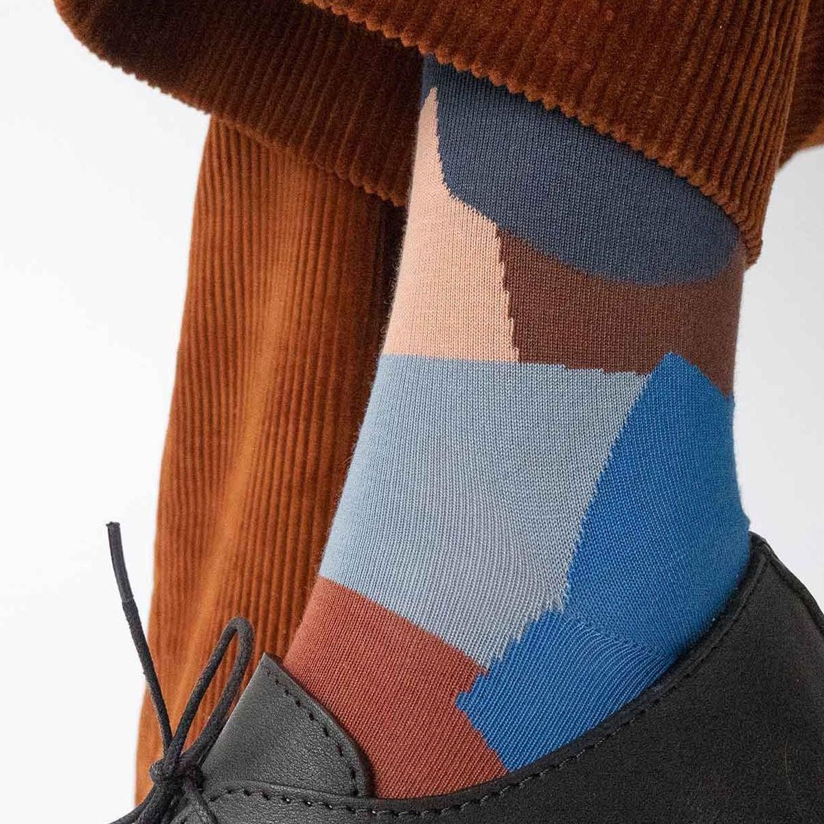 kolorowe skarpetki damskie