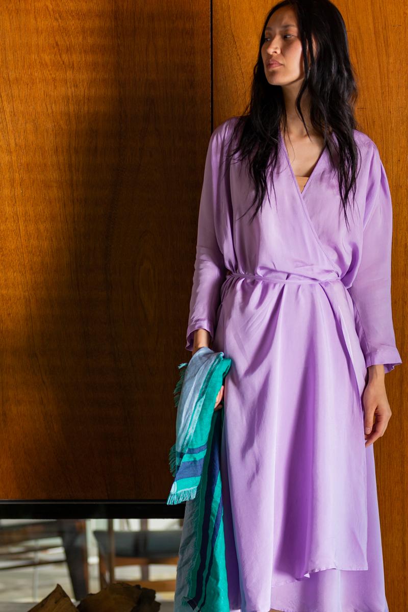 sukienka humanoid cupro